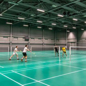Badminton i Sportsbyens Ketchercenter