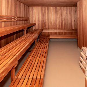 Sauna i svømmehal - Holbæk Sportsby
