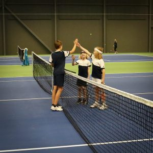Tennis i Ketchercenter i Holbæk Sportsby